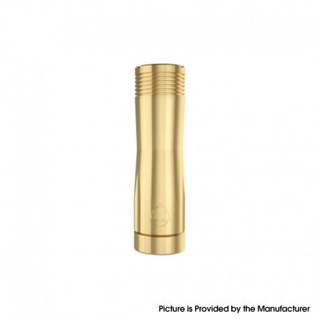 Authentic Hellvape Trishul V2 Mechanical Vape Mech Mod - Brass, 1 x 18650 / 20700 / 21700