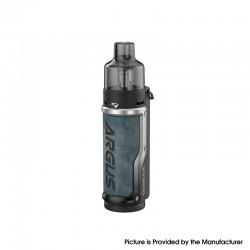 Authentic VOOPOO Argus Pod System Vape Mod Kit w/ PnP Pod - Denim Silver, 1500mAh, 5~40W, 4.5ml / 2.0ml PnP MTL Pod, 0.3/ 1.0ohm
