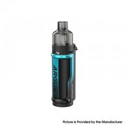 Authentic VOOPOO Argus Pod System Vape Mod Kit w/ PnP Pod - Litchi Leather Blue, 1500mAh, 5~40W, 4.5ml / 2.0ml, 0.3ohm / 1.0ohm