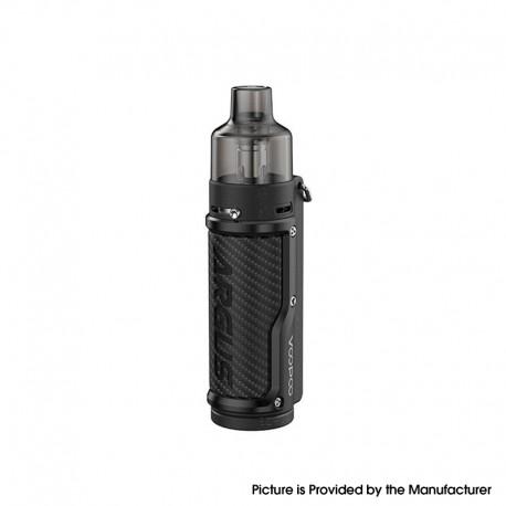 Authentic VOOPOO Argus Pod System Vape Mod Kit w/ PnP Pod - Carbon Fiber Black, 1500mAh, 5~40W, 4.5ml / 2.0ml, 0.3ohm / 1.0ohm