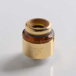 Authentic Vandy Vape Requiem RDA Rebuildable Dripping Vape Atomizer - Gold, DL / RDL / MTL, 22mm Diameter