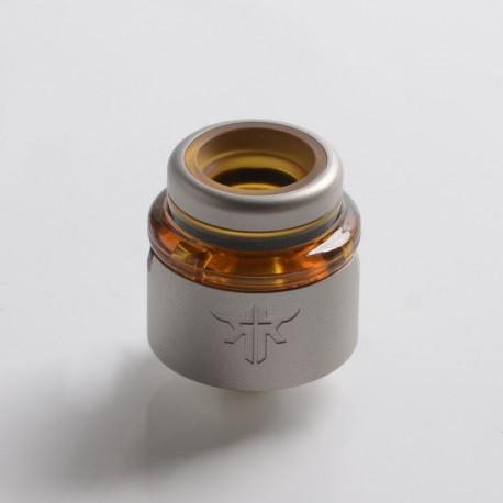 Authentic Vandy Vape Requiem RDA Rebuildable Dripping Vape Atomizer - Frosted Grey, DL / RDL / MTL, 22mm Diameter