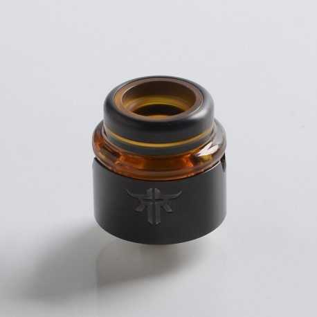 Authentic Vandy Vape Requiem RDA Rebuildable Dripping Vape Atomizer - Gun Metal, DL / RDL / MTL, 22mm Diameter