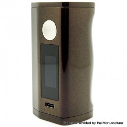 Authentic Asmodus Minikin 3 200W Touch Screen TC VW Variable Wattage Vape Box Mod - Coffee, 5~200W, 2 x 18650