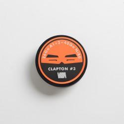 Authentic BP Mods Clapton Coil Wire for RDA / RTA / RDTA Vape Atomizer - 26GA A1 x 2 + 40GA Ni80 (3m)