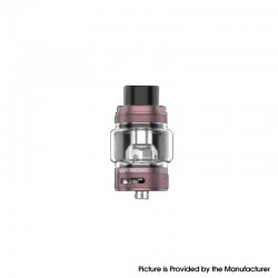 [Ships from HongKong] Authentic Vaporesso NRG-S Sub Ohm Tank Vape Atomizer Clearomizer - Rose Gold, Stainless Steel + Glass, 8ml