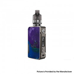 [Ships from HongKong] Authentic VOOPOO Drag 2 Platinum 177W VW Mod Kit w/PnP Tank - P-Puzzle, 4.5ml, 5~177W (Refresh Edition)