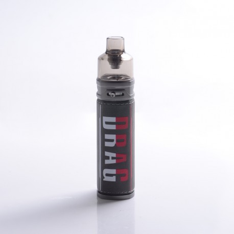 [Ships from HongKong] Authentic VOOPOO DRAG S 60W 2500mAh VW Mod Pod System Kit - Iron Knight, 4.5ml, 0.2ohm / 0.3ohm, 5~60W