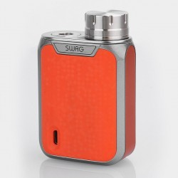 [Ships from HongKong] Authentic Vaporesso Swag 80W TC VW Variable Wattage Box Mod - Orange, Aluminum Alloy, 5~80W, 1 x 18650