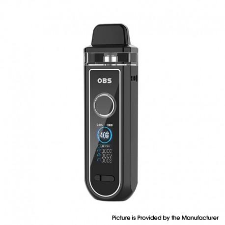 Authentic OBS Skye Pod System Vape Mod Kit FP Version - Black, VW 5~40W, 1600mAh, 4.0ml, 0.4ohm / 1.0ohm