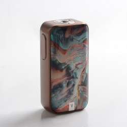 Authentic Vaporesso LUXE II 220W VW Variable Wattage Vape Box Mod - Bronze Coral, 2 x 18650, 5~220W