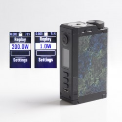 Authentic Dovpo Top Gear DNA250C 200W TC VW Vape Box Mod - Monet, 1~200W, 2 x 18650, Evolv DNA 250C Chipset