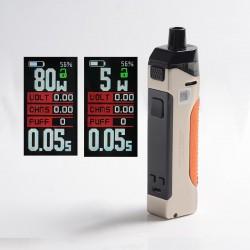 Authentic Wotofo Manik 80W Pod System Vape Mod Kit - Nano Chrome, VW 5~80W, 1 x 18650, 4.5ml, 0.2ohm