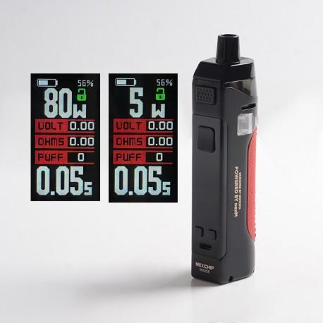Authentic Wotofo Manik 80W Pod System Vape Mod Kit - Nano Black, VW 5~80W, 1 x 18650, 4.5ml, 0.2ohm