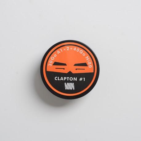 Authentic BP Mods Clapton Coil Wire for RDA / RTA / RDTA Vape Atomizer - 30GA A1 x 2 + 40GA Ni80 (3m)