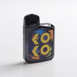 Authentic Uwell Caliburn KOKO Prime 15W Pod System Kit - Black, 690mAh, 2.0ml, 1.0ohm