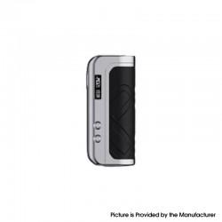 Authentic Augvape Foxy One 120 Vape Box Mod - Silver + Black Leather, 5~120W, 1 x 18650 / 20700 / 21700