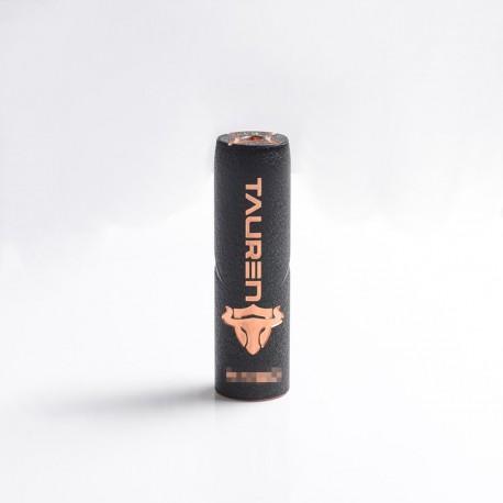 Authentic ThunderHead Creations THC Tauren Hybrid Semi-Mechanical Vape Mech Mod w/ X Chip - Black, Copper, 1 x 18650/20700/21700