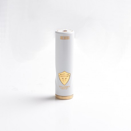 Authentic ThunderHead Creations THC Tauren Max Hybrid Semi-Mechanical Vape Mech Mod w/ X Chipest - White, 1 x 18650/20700/21700