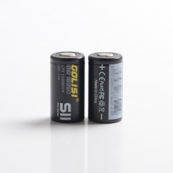 [Ships from Battery Warehouse] Authentic Golisi S11 18350 3.7V 1100mAh 10A Battery for Mechanical Mod / VW Mod - (2 PCS)