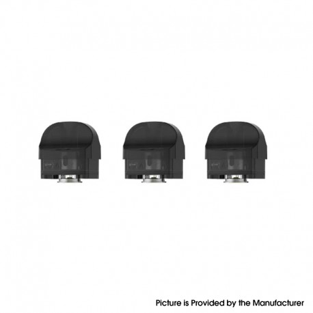 Authentic SMOK Nord 4 Replacement Nord RPM 2 Empty Pod Cartridge for RPM 2 Series Coils - 4.5ml (3 PCS)