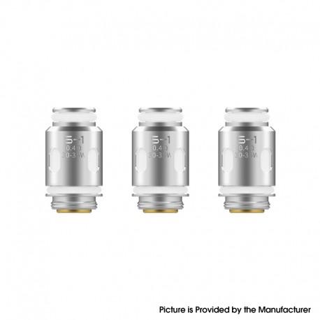 Authentic Smoant S-1 DL Mesh Coil for Smoant Santi Pod System / Pod Cartridge - 0.4ohm (30~35W) (3 PCS)