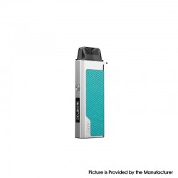 Authentic IJOY Aria Pro Pod System Kit 25W 900mAh w/ Aria Opod Open Pod Cartridge - Cyan, VW 5~25W, 3.0ml, 0.6 / 1.0ohm