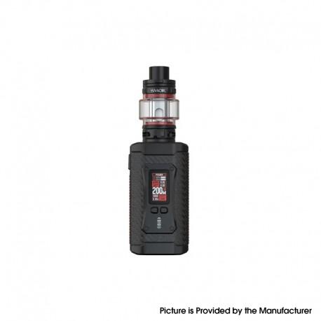 Authentic SMOKTech SMOK Morph 2 Kit 230W Box Mod with TFV18 Tank - Black Carbon Fiber, 1~230W, 2 x 18650, 7.5ml, 0.15ohm/0.33ohm