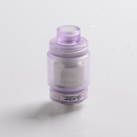 Authentic Ystar Beethoven RTA Rebuildable Tank Atomizer - Purple, Resin + Stainless Steel, 5.5ml, 24.7mm Diameter
