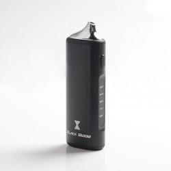 Authentic Kingtons BLK Black Widow Dry Herb & Wax Vaporizer Vape Kit - Black, 2200mAh