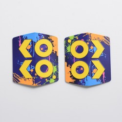 Authentic Uwell Caliburn KOKO Prime Replacement Panel Cover - Yellow (1 PC)
