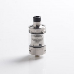 SXK Perseus Style RTA Rebuildable Tank Vape Atomizer - Silver, 316 Stainless Steel, 2.0ml / 4.0ml, 22mm Diameter