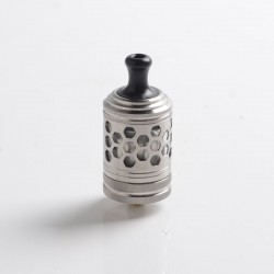 Authentic ThunderHead Creations THC Tauren MTL RTA Vape Atomizer - Silver, 2.0ml, 24mm, 360' Variable Airflow Control System