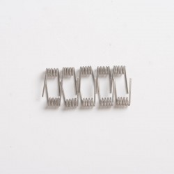 Authentic ThunderHead Creations THC Tauren MTL RTA Replacement Ni80 MTL Fused Clapton Coil - 0.6ohm, 30GA x 2 + 38GA (10 PCS)