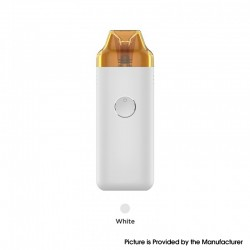 Authentic GeekVape Wenax C1 Pod System Vape Kit - White, 950mAh, 3.0ml, 0.8ohm / 0.6ohm