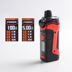 Authentic GeekVape Aegis Boost Pro 100W Pod System Vape Mod Kit - Red, VW 5~100W, 1 x 18650, 6.0ml, 0.2ohm / 0.4ohm