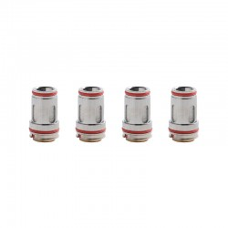 Authentic Uwell Crown 5 FeCrAl UN2 Single Mesh Coil - 0.23ohm (65~70W) (4 PCS)