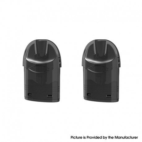 Authentic Vsticking VK280 Refillable Pod Cartridge for VK280 Pod Kit - Black, 1.6ml (2 PCS)