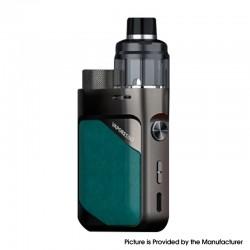 Authentic Vaporesso Swag PX80 Kit 80W Box Mod + Swag 4ml Pod Tank - Emerald Green, 5~80W, Axon Chip, 1 x 18650, 0.2ohm / 0.3ohm