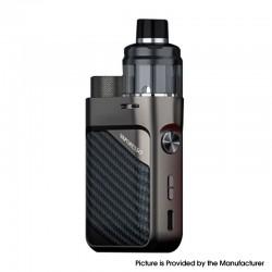 Authentic Vaporesso Swag PX80 Kit 80W Box Mod + Swag 4ml Pod Tank - Brick Black, 5~80W, Axon Chip, 1 x 18650, 0.2ohm / 0.3ohm
