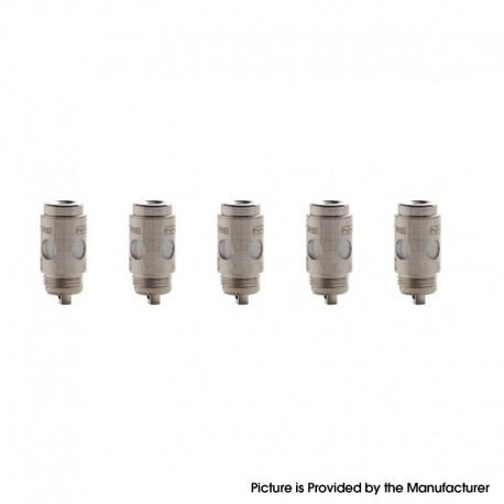 Authentic Asvape Hita Pod Vape Kit / Hita Ink Kit Replacement Mesh Coil Head - Silver, 0.6ohm (5 PCS)