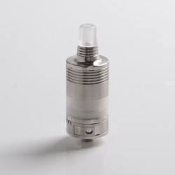 5AVape BY-kA V.9 V9 MTL RTA Rebuildable Tank Atomizer - Silver, Nano Version 3.0ml, 22mm Diameter