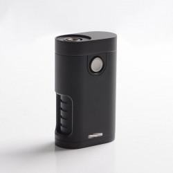 Armor Mech V2 Style BF Bottom Feeder Squonk Vape Mechanical Box Mod - Full Black, 1 x 18650