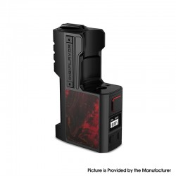 Authentic Digiflavor Z1 SBS 80W VW Variable Wattage Vape Box Mod - Black Stabwood, 5~80W, 1 x 18650