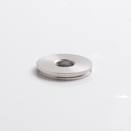 SXK Scud TT Style Box Mod Replacement 510 Ring - Silver, Stainless Steel, Compatible with 24mm Atomizer