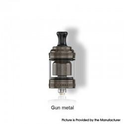 Authentic Vandy Vape Berserker Mini V2 MTL RTA Vape Atomizer - Gun Metal, 2.0 / 2.5ml, 22mm, Glass / PEI / Metal Tube