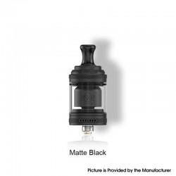 Authentic Vandy Vape Berserker Mini V2 MTL RTA Vape Atomizer - Black, 2.0 / 2.5ml, 22mm, Glass / PEI / Metal Tube