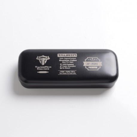 Authentic ThunderHead Creations THC 100% Organic Premium Cotton - 110mm, Double Heads Shoelace Cotton (20 PCS)