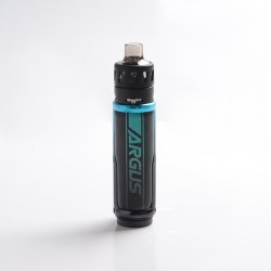 Authentic VOOPOO Argus X 80W Pod System Vape Mod Kit - Litchi Leather & Blue, 5~80W, 1 x 18650, 4.5ml, 0.15ohm / 0.3ohm