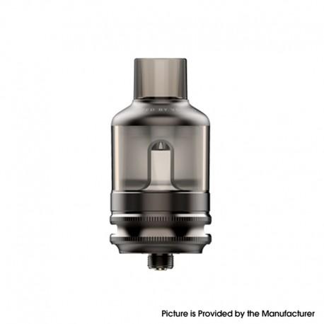 Authentic Voopoo TPP Tank Atomizer - Gun Metal, 5.5ml, Zinc Alloy + PCTG, 0.15ohm / 0.2ohm